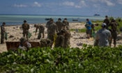 Task Force Koa Moana beach cleanup Tarawa 6