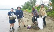 Beach Clean-Up in Lami, Suva