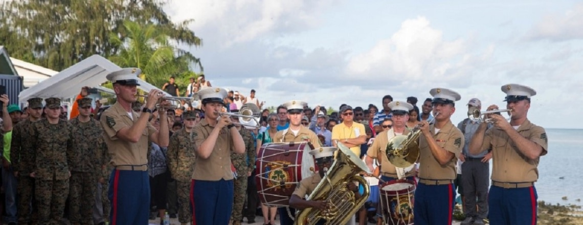 Commemoration of the 75th Anniversary of the Battle of Tarawa