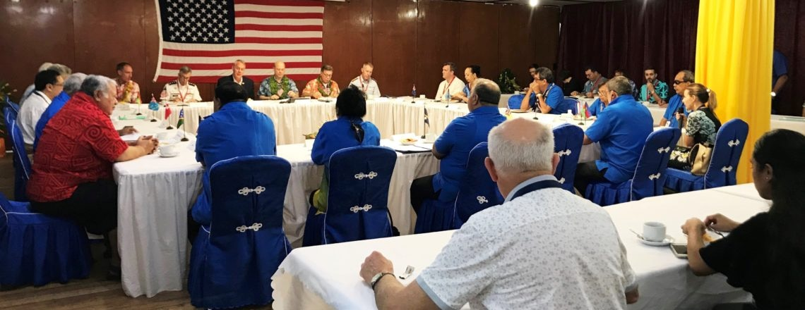 U.S. Delegation Meeting With Pacific Island Leaders